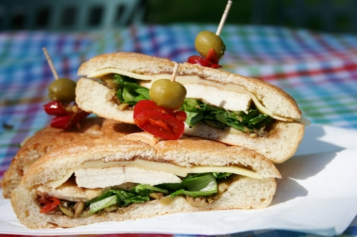 Chicken-Muffuletta